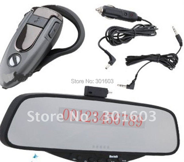 30% Discount, Car Bluetooth Car Rear View Mirror