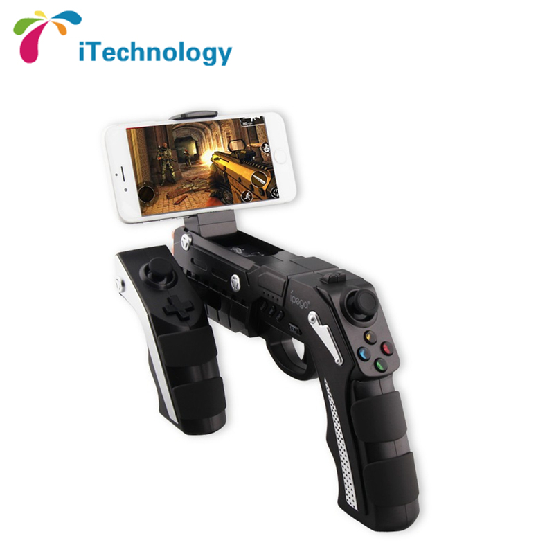 New Arrival iPega PG-9057 Wireless Bluetooth Game Gun Controller Joysticker Gamepad for Mobile Phone Tablet PC(China (Mainland))