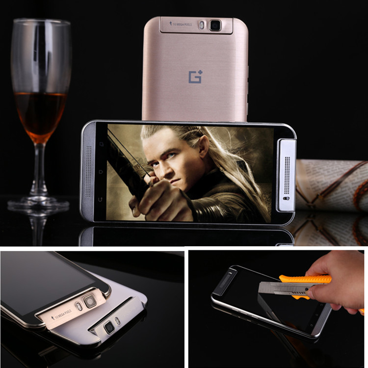 "one M8 mobile cell phones MTK6595 octa core 4G LTE 16G ROM 16MP 5.5"" IPS android smartphone 3G GPS unlock original Gorilla Glass(China (Mainland))"