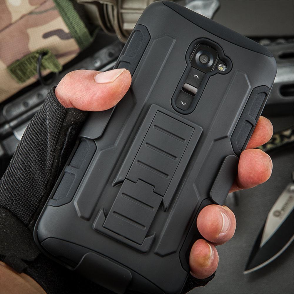 LG G2 D802 D805 D801 D800 D803 LS980 Future Armor Impact Holster Shockproof Hard Case LG Optimus G2 Back Cover + Gift