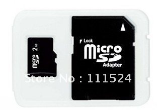 Micro SD TF Card Class 4  C4 Full Capacity  High Speed 32GB 16GB 8GB 4GB  SD Adapter Free Shipping
