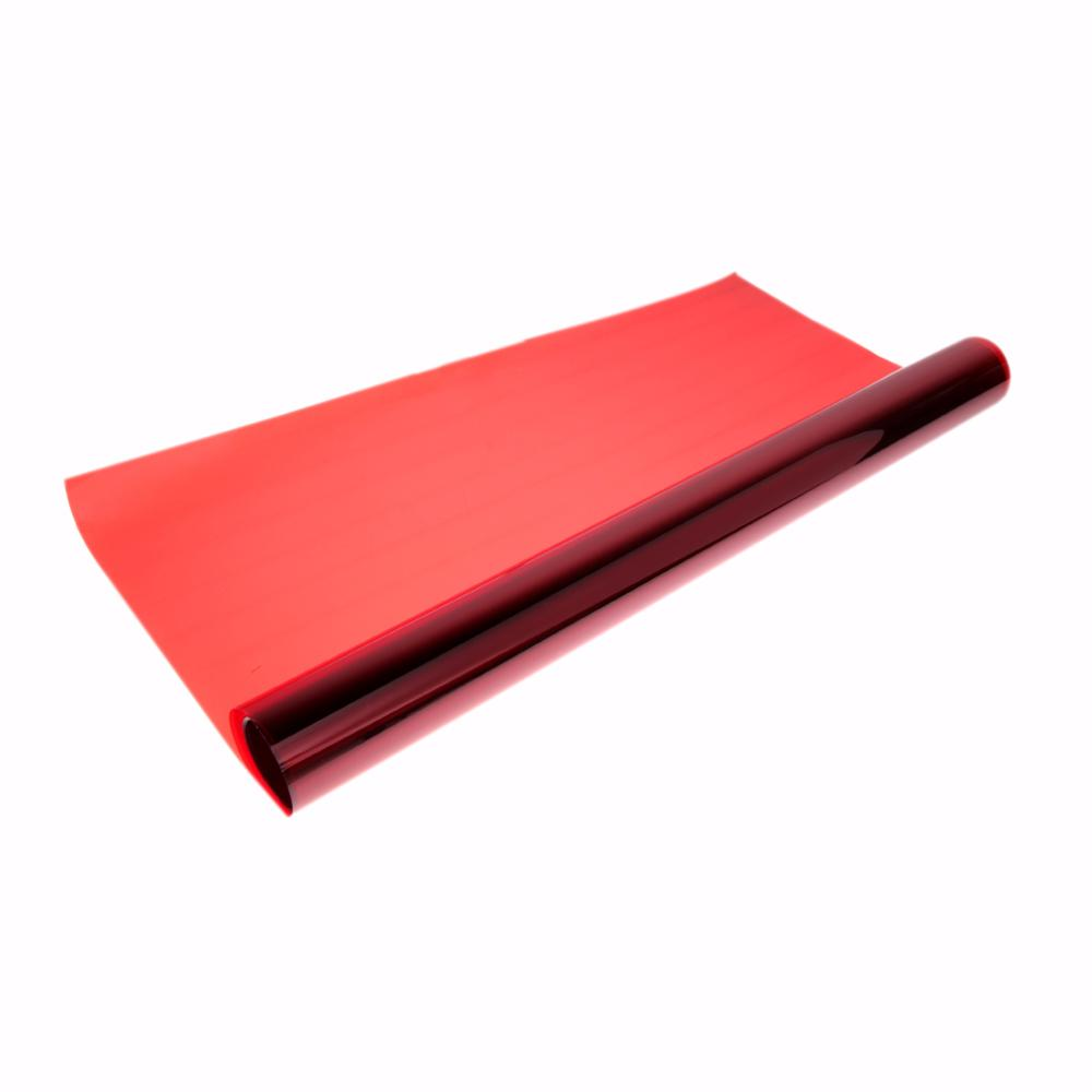 3X0.5M Waterproof Roll Car Red Glass Window Film Tint 99% UV Rejection 60% Visible Light Transmittance For Office Home(China (Mainland))