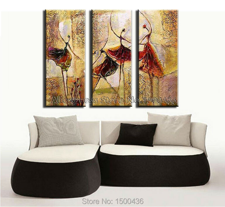 Buy 100 hand painted modern abstract oil for Blank canvas designs wall art