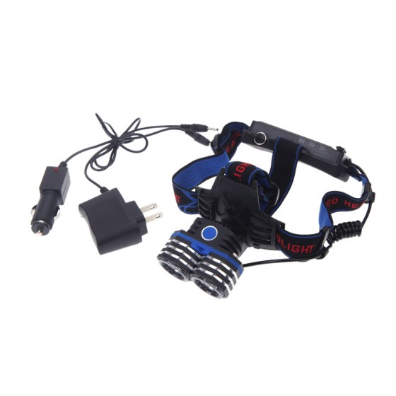 CREE XML T6 4000 Lumens LED Rechargeable Headlight Headlamp Outdoor Head Lamp Lantern For Hunting/Charger(US EU)/Car Charger<br><br>Aliexpress