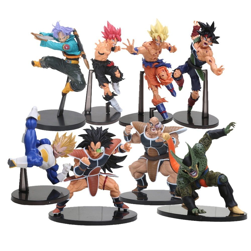 Banpresto SCultures Dragon Ball Z action figure toys Resurrection Of F Dragonball Styling God Super Saiyan Son Goku vegeta cell(China (Mainland))