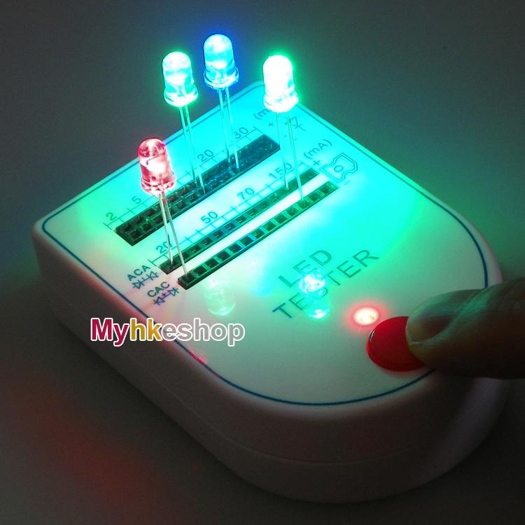 Гаджет  Portable Mini LED Tester Test Box Light-emitting Diode Bulb Lamp 9V 2~150mA New None Свет и освещение