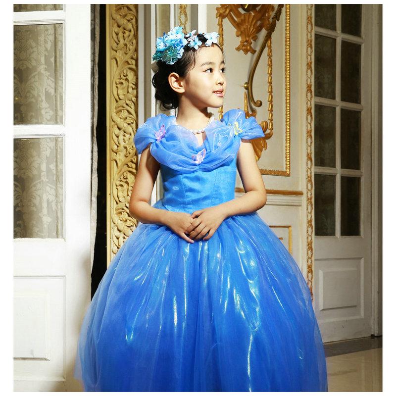 girl Princess dress wedding dress fairy Cinderella dress festival Christmas Hallowmas costumes European luxury palace dress<br><br>Aliexpress