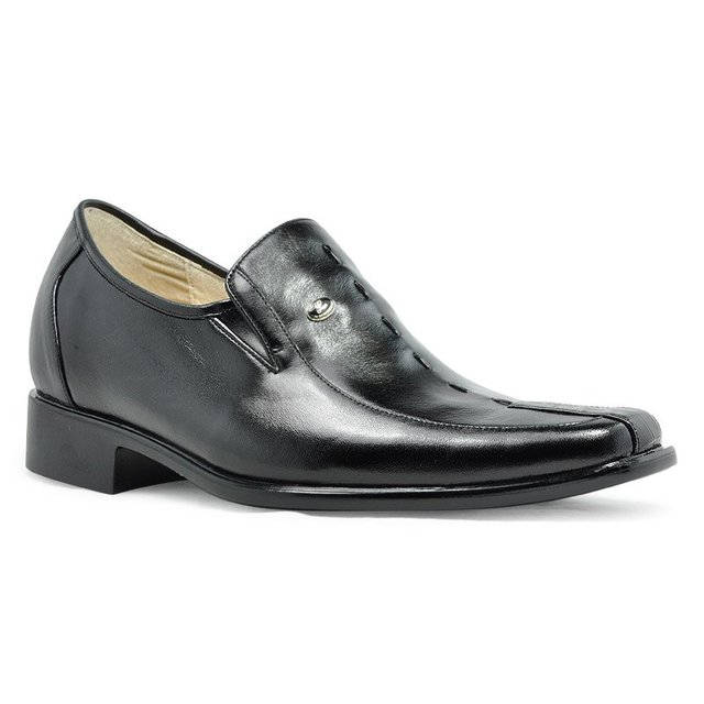 "3018- Handmade Formal leather shoes  for wedding or special occasion  party - gain you 2.75"" -Free Shipping"