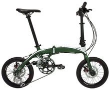 "FXSAGA 16"" inch ultra light  Aluminum 8 speeds disc brake  folding bike bicyle fold bike(China (Mainland))"