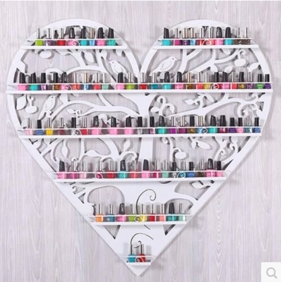 Novelty Cosmetic display rack hanging nail polish shelf -32(China (Mainland))