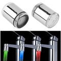 1pcs LED Light Water Faucet Tap Heads Temperature Sensor RGB Glow Shower Stream bathroom faucet 3