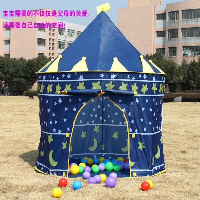 Ultralarge Children Beach Tent Baby Toy Play Game House Kids Princess Prince Castle Indoor Outdoor Toys Tents Christmas Gifts - Fashion MIN store