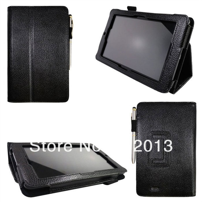 Wholesale NEW Leather Case For ASUS 7 inch Tablet  MeMo Pad ME172V Stand Tablet Leather Cover Case ,9 Color,DHL Free Shipping,<br><br>Aliexpress