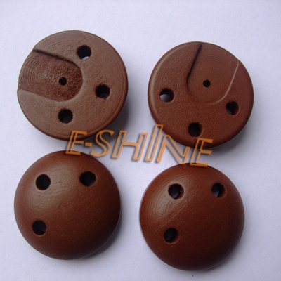 include shipping cost (50pcs) wooden 3 holes soother with brown color for retail(China (Mainland))