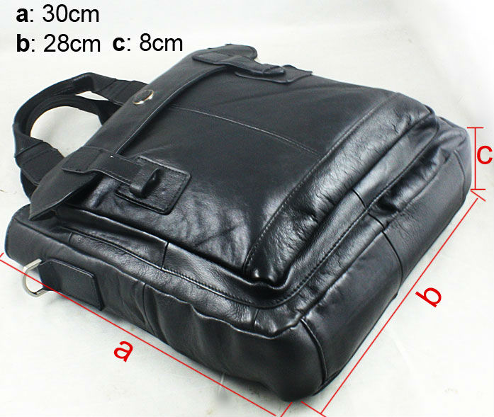 Man Genuine leather shoulder tablet PC briefcase bag handbag Fit For PLAYBOY car gift FREE SHIPPING(China (Mainland))