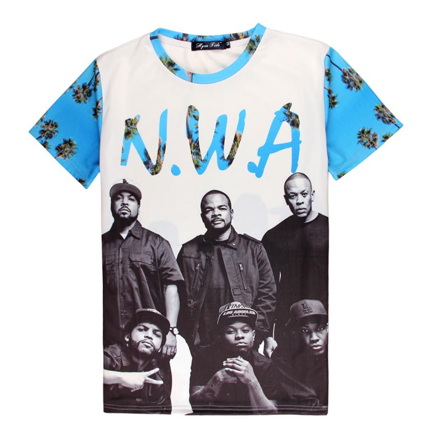 T Shirt Men Tshirt New Summer Dryfit Quick Dry Niggaz Wit Attitudes NWA Lady Gaga Michael Jackson Superstars 3D T-shirt Tee Tops(China (Mainland))