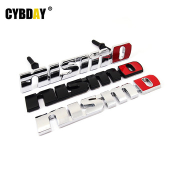Chrome NISMO Auto Car Stickers Badge Emblem Car Styling For Nissan Tiida Teana Skyline Juke X-trail Almera Qashqai Accessories