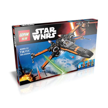 05004 79209 With instruction 2016 New Star Wars First Order Poe's X-wing Fighter Building Blocks Compatible With Lego STAR WARS