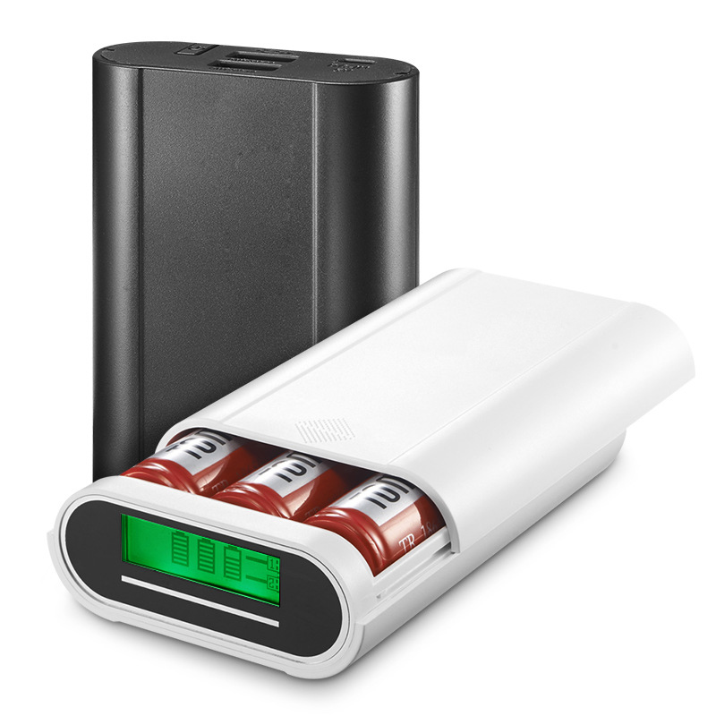 18650 battery Power Bank DIY multi function 2A output 18650 charger DIY high capacity display power bank for pad cellphone(China (Mainland))