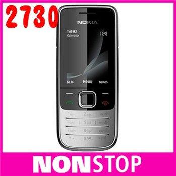 2730 Original Nokia 2730 Unlocked phone One Year Warranty Free Shipping
