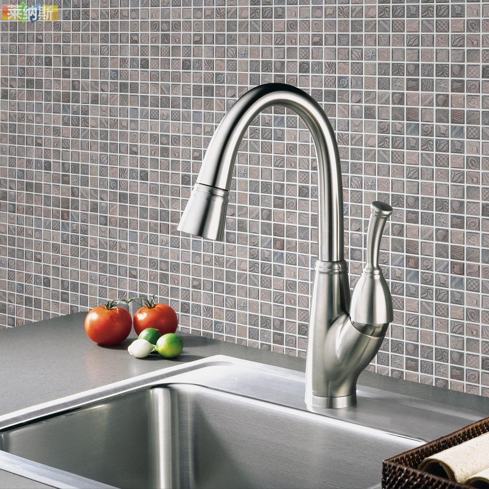 [Linus] Ceramic Mosaic Ocean Shell Mosaic Tile Bathroom Renovation Self Adhesive Materials-in
