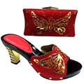 Italian Shoes With Matching Bag Set New Design Matching Shoes And Bags For Wedding Fashion Sandal