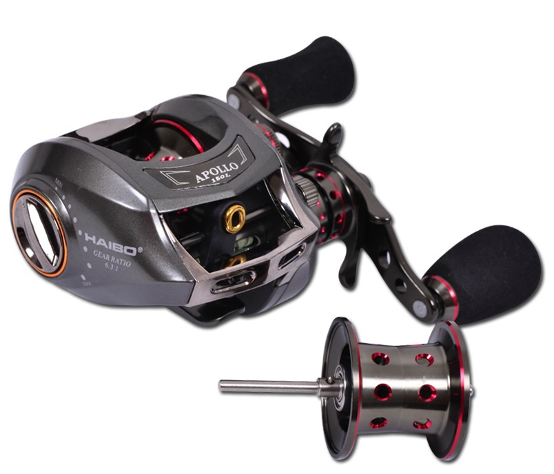 Buy haibo apollo 150l 13 1bb left hand for Fish drops reels