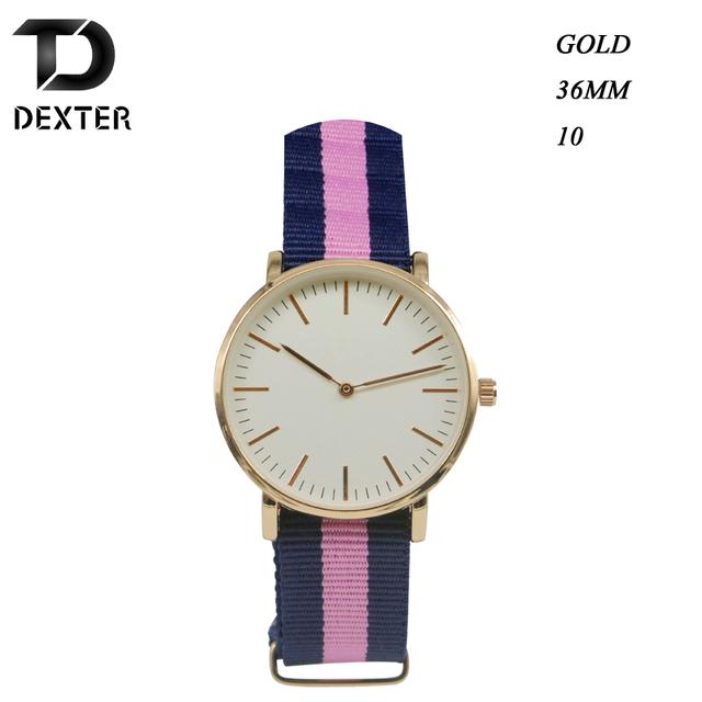 Zegarek unisex klasyczna forma elegancki styl różne kolory