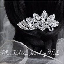 12pcs/lot Handmade Crystal Rhinestone Hair Comb