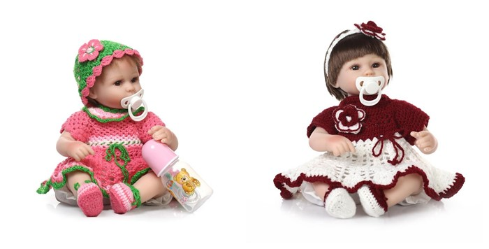 New Manufacturing 18inch Real Baby Born Doll Of NPK Brand In Different Lovely Sweater Can Choose Doll For Girl Gift Bonecal Bebe(China (Mainland))