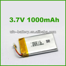 Li-ion battery 1000mAh 3.7V Li-po Battery Lithium Rechargeable Battery for GSM,GPS,Cell phone(China (Mainland))