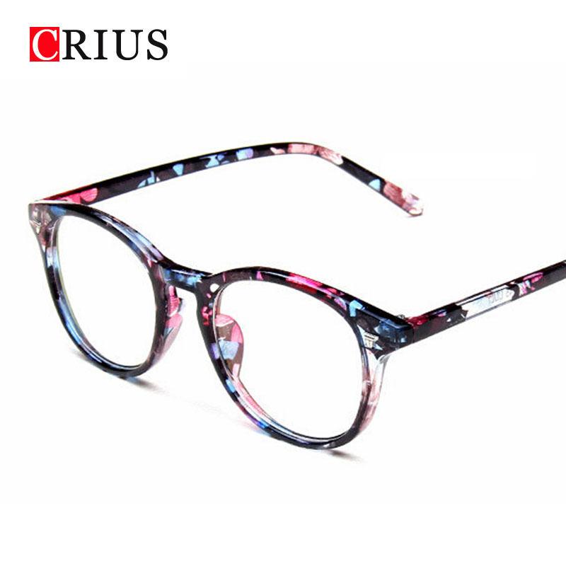 2015 new fashion women's eyeglasses Vintage Rivet Radiation protection green film lens glasses frame for women eyewear