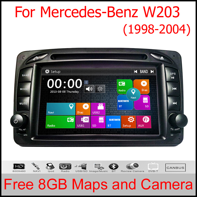 voiture lecteur dvd gps pour mercedes benz w203 w208 w209 w210 w463 vito viano gps quad core 4. Black Bedroom Furniture Sets. Home Design Ideas