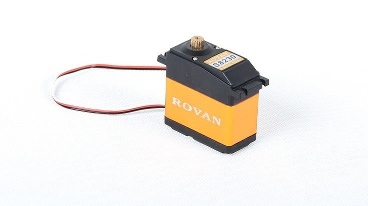 ROVAN DIGITAL TITANIUM GEAR SERVO RC CORELESS 45KG RV-S8230MG 1/5 BAJA BUGGY TRUCK