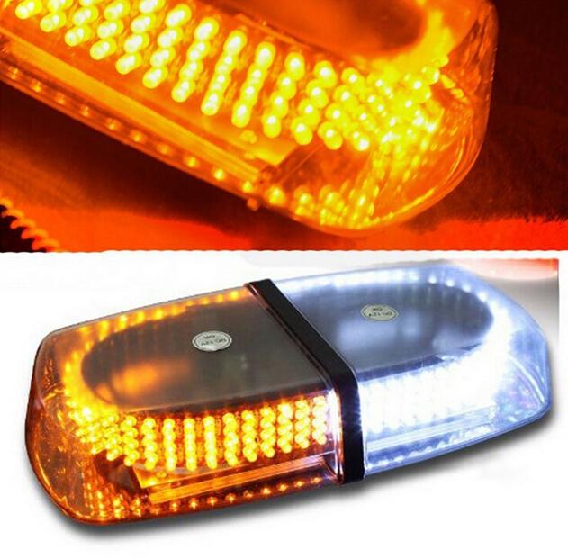 Free shipping Emergency Hazard Warning 240 LEDs Mini bar Strobe Flash Police warning Light vehicle car roof(China (Mainland))