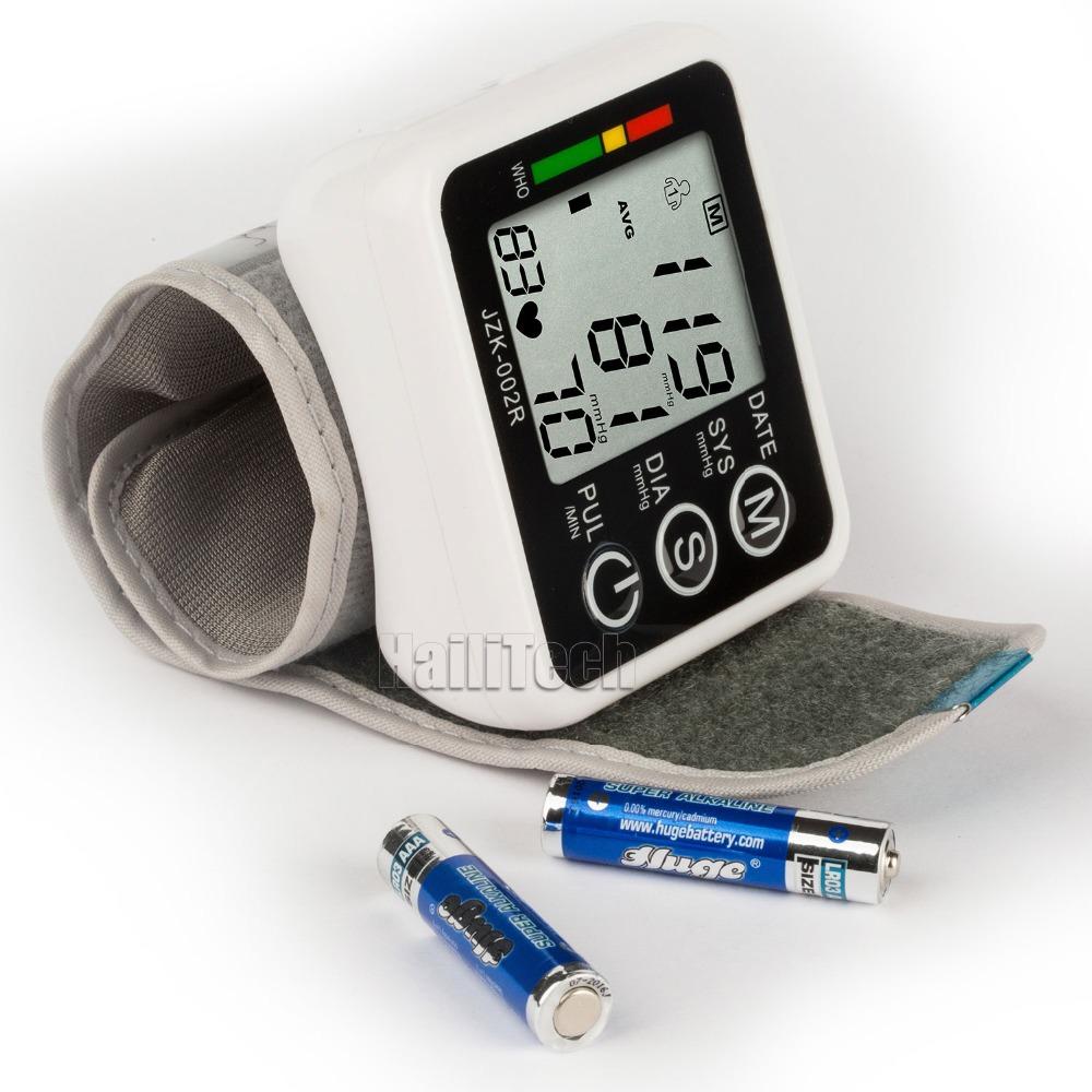 health care Automatic Digital Wrist Blood Pressure Monitor for blood pressure measurement, health monitor Sphygmomanometer<br><br>Aliexpress