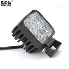 DC12-24V 12W Work Light Waterproof Cool White High Power Spot light Off-board Car Boat Worklight SUV BMW Truck - RDF Car-Styling Store store