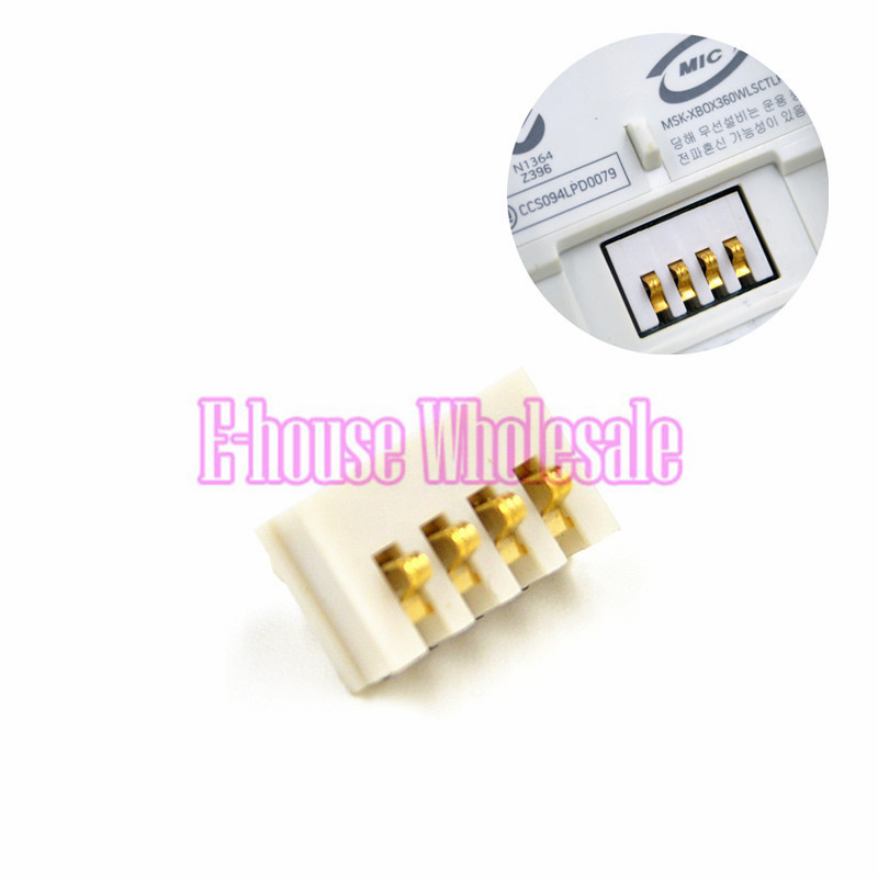 [100PC/ LOT] Wholesale Price For Battery Connector Part Charging Port Replacement For Xbox 360 Wireless Controller(China (Mainland))