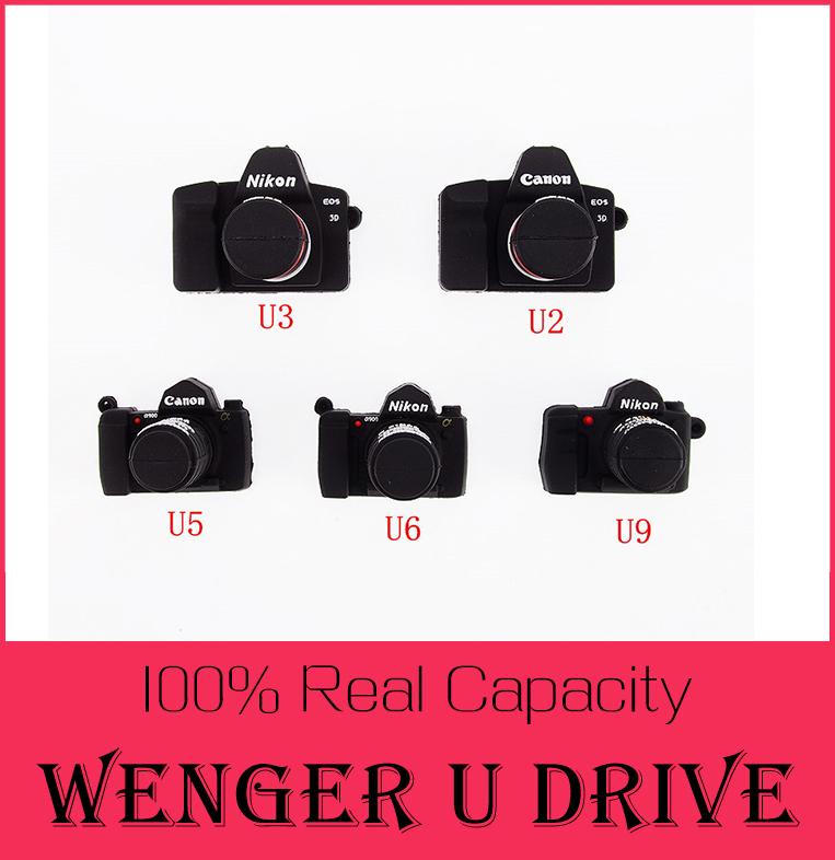 fashion Retail real 4GB/8GB/16GB/32GB/64GB USB 2.0 flash drive 512GB pen drive 128GB memory stick cartoon camera 6M/S(China (Mainland))