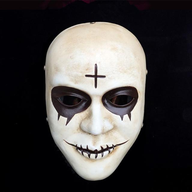 M scara caliente de halloween cosplay vestido de fiesta - Mascara de terror ...