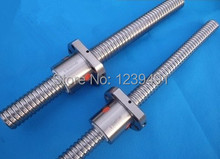 1pc SFU2005 ball screw 500mm +1pc 2005 ball nut without end machined CNC parts