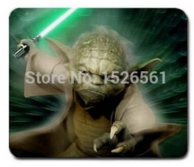New Arrival High Quality Yoda Star Wars Large Gaming Non-Slip Rubber Mousepad for Computer PC Laptop<br><br>Aliexpress