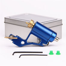 Professional Rotary Tattoo Machine Aluminium Alloy CNC Tattoo Frame Tattooing Gun for Shader Liner fit Standard Needles 4 Colors(China (Mainland))