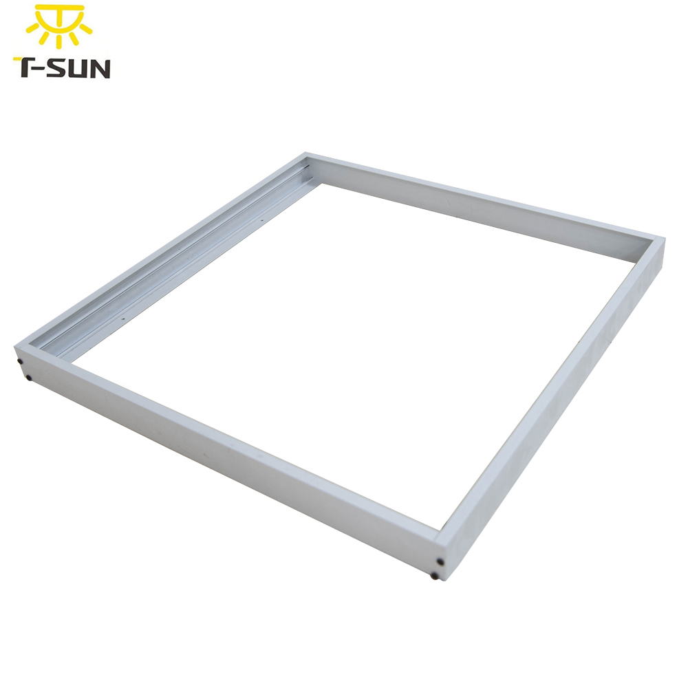 Aluminum Surface mounted metal structure for led panel frame UL Listed LED Panel Light Framework Size 603*603 595*595mm(China (Mainland))