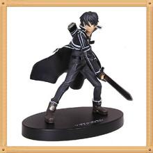 16cm Anime Sword Art Online kirigaya kazuto Kirito PVC Action Figure Model Collection Toy