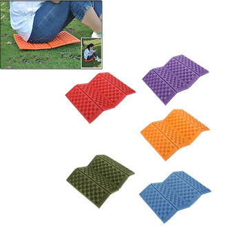 Foldable Folding Outdoor Camping Mat Seat Foam XPE Cushion Portable Waterproof Chair Picnic Mat Pad 5 Colors