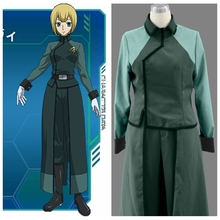 Mobile Suit Gundam 00 Anime A-Laws Female Uniform Cosplay Costume