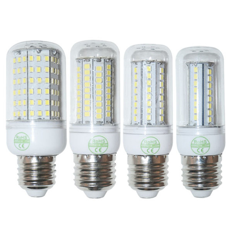 Гаджет  Retail 220V/110V 9W 15W 18W 20W 25W  E27 2835 SMD LED LED bulb lamp,Warm white/white E27 SMD2835 LED Corn Bulb,free shipping None Свет и освещение