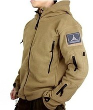 Autumn TAD Outdoors Military Tactical Outdoor Soft Shell Fleece Hoody Jacket Men Sportswear Thermal Hunting Sport Hoodies(China (Mainland))
