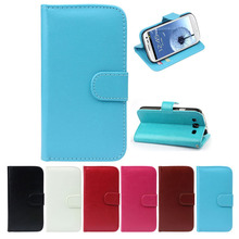 2014 Fashion New arrivel PU Leather Wallet Flip Case Cover For SAMSUNG GALAXY S3 i9300  Onfine (China (Mainland))